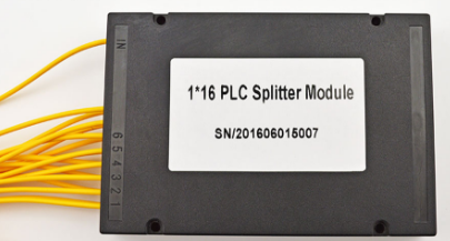 1分16盒式PLC分光器光纤分路器