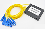 1分16盒式PLC分光器光纤分路器(可加各式光纤接头)
