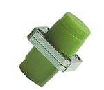 FC/UPC单模单工一体方座光纤适配器