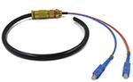 FC/APC SM 单模2芯室外光纤防水尾缆
