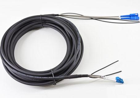 LC-SC单模室外双芯基站拉远光纤跳线GYFJH2B1