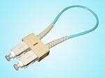 LC单模光纤回路器