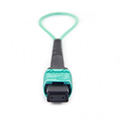 12-Core MPO OM3 Loopback Cable,for QSFP+ Transceiver