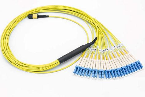 Fanout MPO/APC-SC/UPC单模12芯光纤跳线