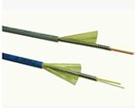 FC/UPC单模SM9/125 3.0mm一管双芯铠装防鼠咬光纤跳线