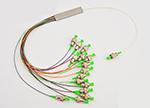 1分16微型PLC光纤分路器(可加各式光纤接头)