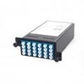 12 Core MPO Box, 1 port MPO to 12 ports SC connectors, OM3, MMF