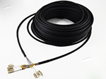 LC/LC 4芯多模φ7.0mm LSZH室外GYFJH- FTTA室外基站拉远光纤跳线