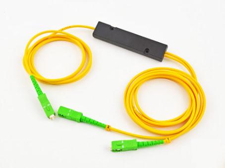 1分2迷你mini盒式PLC光纤分路器