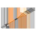 120G CXP to 3x 40G QSFP+ Active Optical Cable