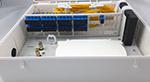 32口塑料分光箱FT-FDB-0132B(插片式光分路箱)