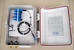 16口塑料分光箱FT-FDB-0216A