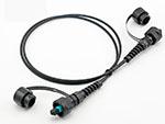 IP65-67级ODVA-LC光纤防水跳线光纤防水连接器
