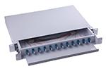 12-48口机架固定式终端盒(面板内置带预留挡板)
