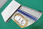 12-24口旋转式光纤终端盒光纤配线架(19英寸机架固定式)
