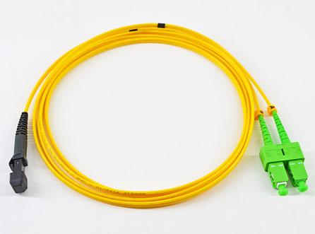 MTRJ-SC/UPC单模双芯光纤跳线