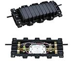 48-96芯卧式光缆接续盒(2进2出)