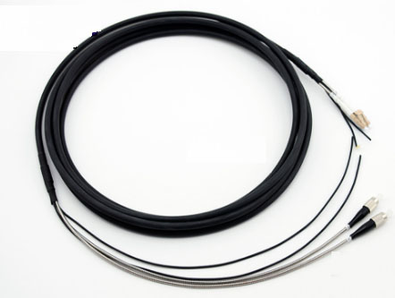 LC-FC多模室外双芯基站拉远光纤跳线GYFJH2A1a