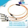 40G QSFP+ to 4x10G SFP+ AOC