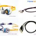 J599 4芯光纤插头插座
