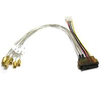 0.3M 29-Pin SAS to (8) SMA RF Coax Cable