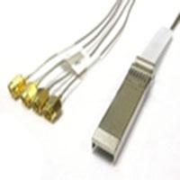 0.3M SFP+ to (4) SMA RF Coax Cable